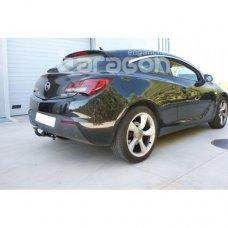 Фаркоп Aragon для Opel Astra J GTC 2011- E4523AA