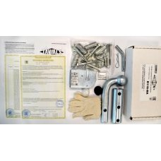 Фаркоп Лидер Плюс на Киа Сид хетчбек 2007-2012 с быстросъемным шаром K110-BA