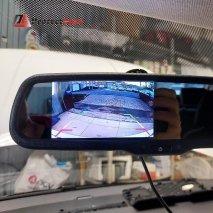 Защита от угона Фольксваген Поло 2020г. и установка штатной камеры заднего вида в эмблему