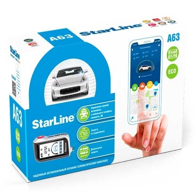 StarLine A63 2CAN + 2LIN ECO