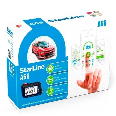 StarLine A66 2CAN + 2LIN