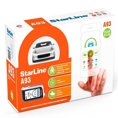 StarLine A93 2CAN + 2LIN