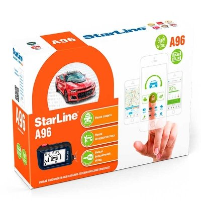 StarLine A96 2CAN + 2LIN GSM