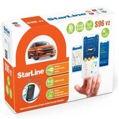 Автосигнализация StarLine S96 v2  2CAN 4LIN 2SIM GSM