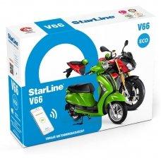 Мотосигнализация StarLine V66 ECO